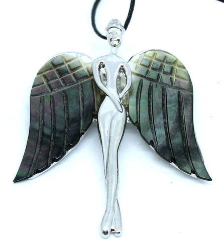 COLGANTE BROCHE ANGEL NACAR